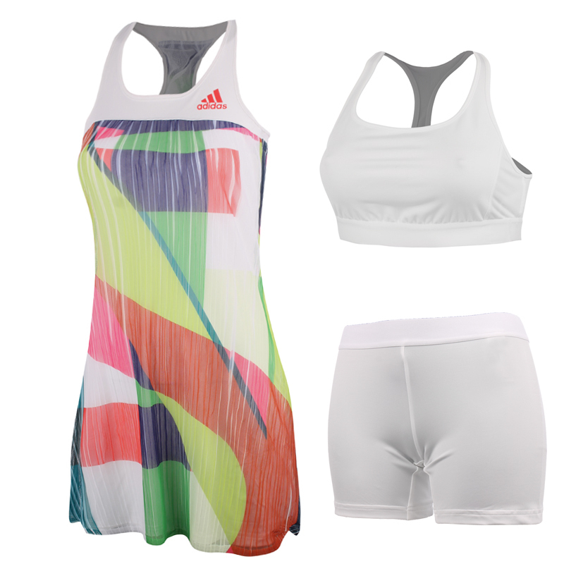 88ca32162ec Adidas Anan Ivanovic 2016 Australian Open Women's Adizero Tennis Dress,  White ...