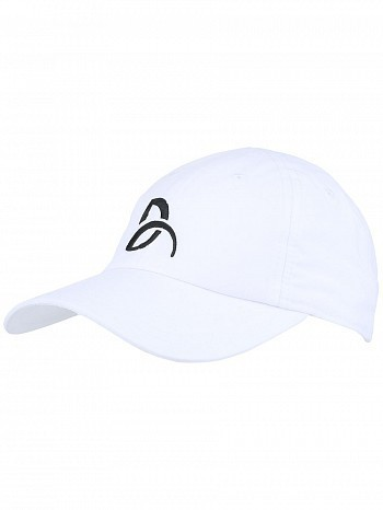 Lacoste Novak Djokovic Pro Athlete Logo Tennis Cap Hat White ... 7882ec09618