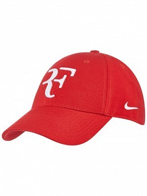 6f0754edd6434 ... promo code for nike roger federer foundation rf hybrid pro tennis hat  cap red white 5c692