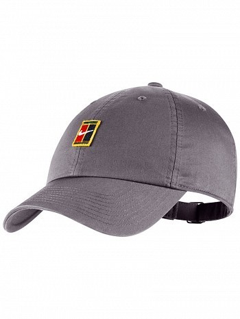 1b86eb85e7a Nike ATP Pro Player Men s Court Heritage 86 Tennis Hat Cap Grey ...