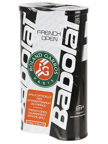 Babolat French Open Clay Court Tennis Balls 2 X 4 Ball Pack