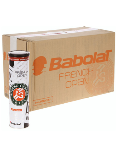 Babolat French Open Clay Court Tennis Balls 18 X 4-Ball Pack