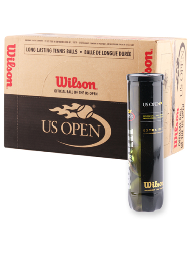 Wilson US Open Tennis Balls 18 X 4 Ball Can