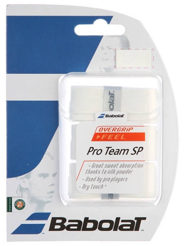 Babolat Pro Team SP Overgrips 3 Pack White