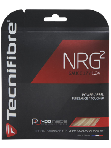 Tecnifibre NRG2 1.24 Tennis String 12m Set