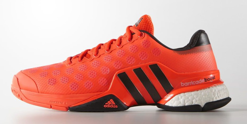 6a93158e9 Adidas Jo-Wilfried Tsonga Barricade 2015 Boost Men s Tennis Shoes Solar ...