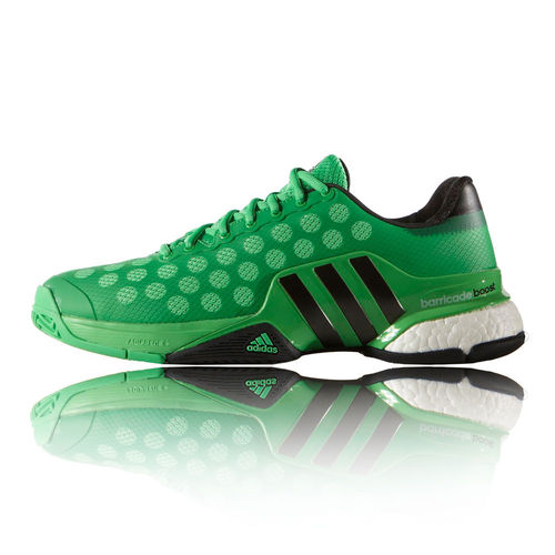 Adidas Jo-Wilfried Tsonga Barricade 2015 Boost Men's Tennis Shoes Green