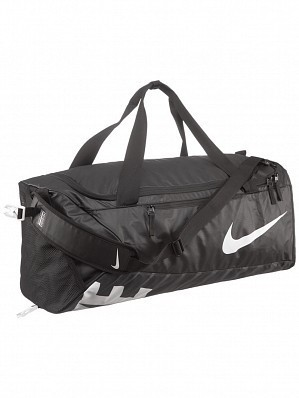 Nike ATP WTA Pro Player Alpha Adapt Crossbody Large Duffel Bag, Black