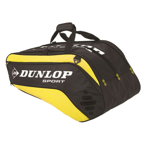Dunlop Biomimetic Tour 10 Tennis Racket Bag Yellow