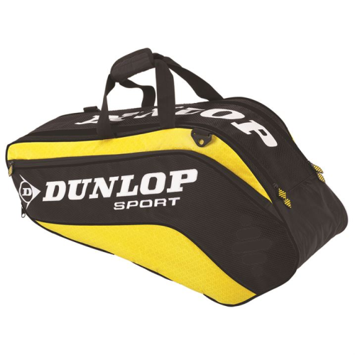 Dunlop Biomimetic Tour 6 Tennis Racket Bag Yellow