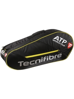Tecnifibre Tour ATP 6 Pack Tennis Racket Black / Yellow