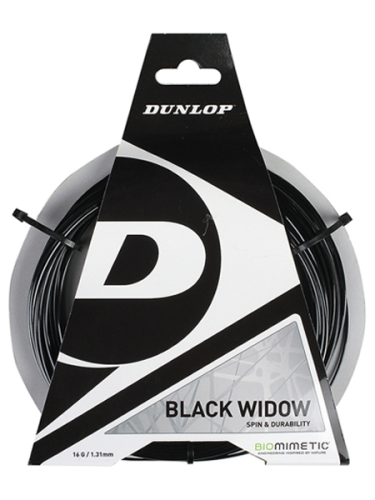 Dunlop Black Widow 16 1.31mm Tennis String
