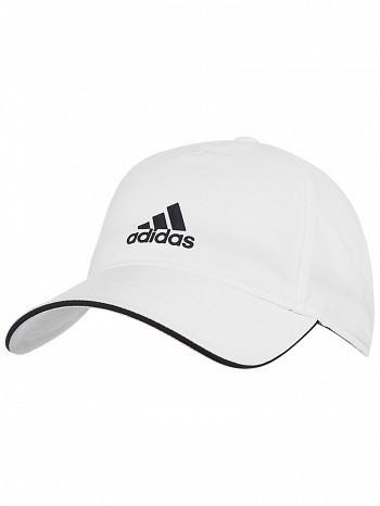 Adidas ATP Pro Player Five Panel Classic Climalite Tennis Cap Hat White