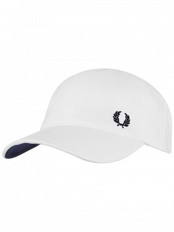 Fred Perry Classic Pique Tennis Cap White
