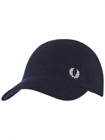 Fred Perry Classic Pique Tennis Cap Navy