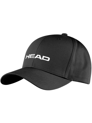 Head Logo Pro Tennis Cap Hat Black