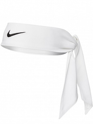 Nike Maria Sharapova & Victoria Azarenka Ladies Long Slim Dri-Fit Head Tie Up Bandana, White