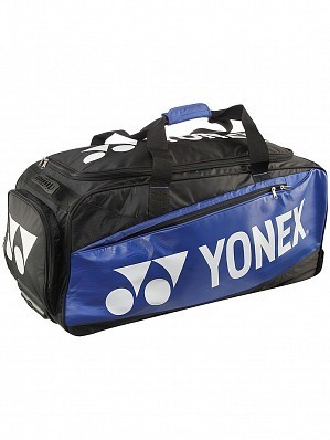 Yonex Pro Series Tennis Racket Bag With Wheels Blue / Yellow