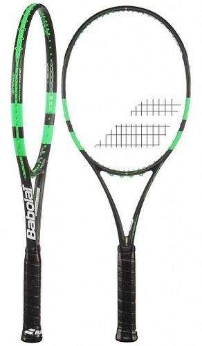 Babolat Pure Strike Wimbledon Open Tennis Racket  16/19