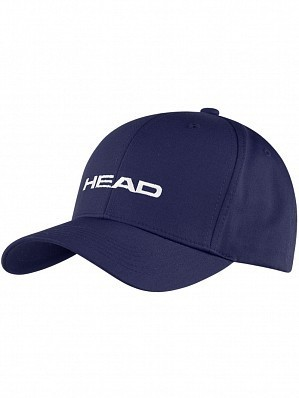 Head Logo Pro Tennis Cap Hat Navy