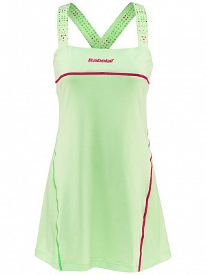 Babolat WTA Match Pro Women Player Ladies Performance Tennis Dress Green