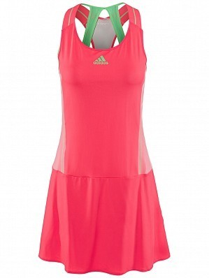 Adidas Anan Ivanovic 2015 WTA Tour Women's Adizero Tennis Dress Pink