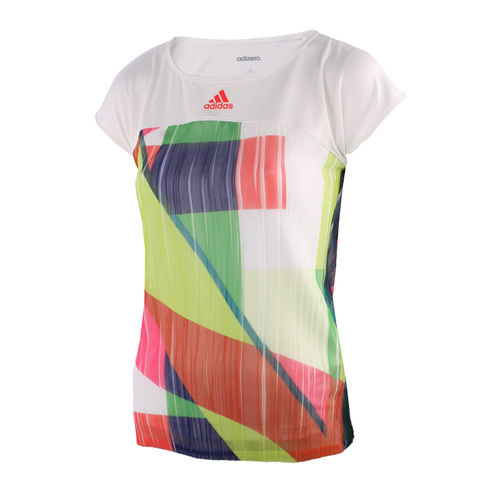 Adidas Anan Ivanovic 2016 Australian Open Women's Adizero Tennis Top Shirt, White