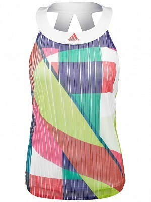 Adidas Anan Ivanovic 2016 Australian Open Women's Adizero Tennis Tank Top Shirt, White