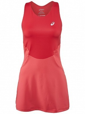 Asics Pro Player 2015 Fall WTA Tour Women's Athlete Tennis Dress, Red