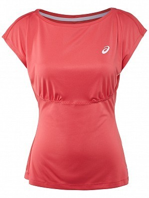 Asics Pro Player 2015 Fall WTA Tour Women's Athlete Tennis Top Shirt, Red