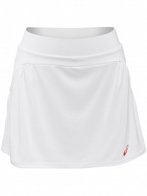 Asics Pro Player 2015 Fall WTA Tour Women's Athlete Tennis Skirt, White
