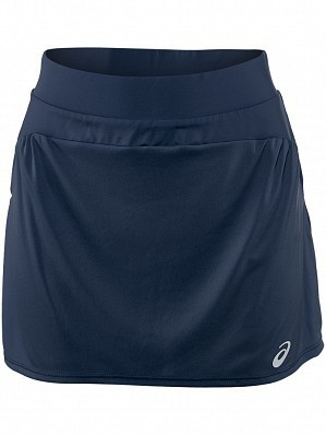 Asics Pro Player 2015 Fall WTA Tour Women's Athlete Tennis Skirt, Navy