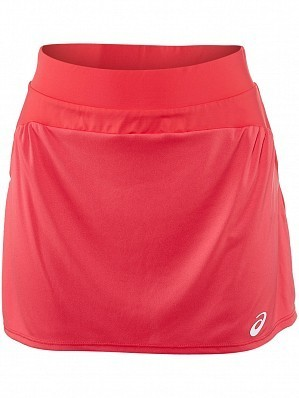 Asics Pro Player 2015 Fall WTA Tour Women's Athlete Tennis Skirt, Red
