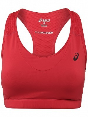 Asics Women's WTA Pro Player Tennis Bra Red