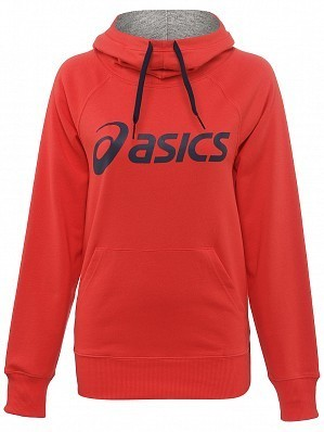 Asics Pro Player 2015 Fall WTA Tour Women's Knit Tennis Hoodie Sweater Red
