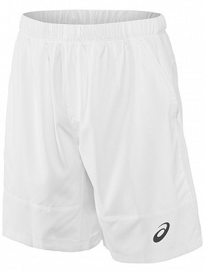 "Asics ATP Master Tour Pro Player Men's 7"" Tennis Shorts 18cm, White"