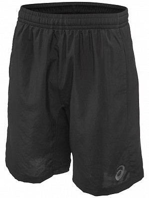"Asics ATP Master Tour Pro Player Men's 9"" Tennis Shorts 23cm, Black"