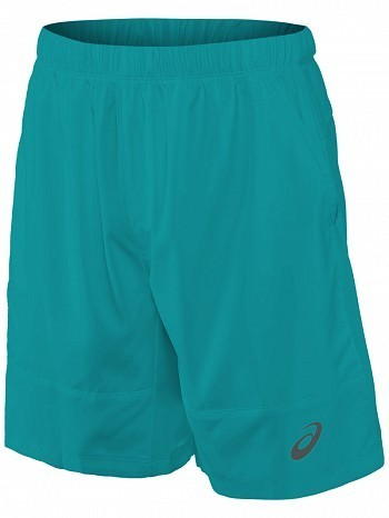"Asics ATP Master Tour Pro Player Men's Club 7"" Tennis Shorts 18cm, Green"