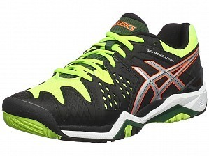Asics Pro Player 2015 ATP Master Men's Gel-Resolution 6 Tennis Shoes Black / Green