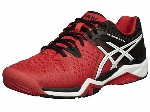Asics Pro Player 2015 ATP Master Men's Gel-Resolution 6 Tennis Shoes Red / Black