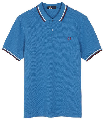 Fred Perry Pro Men's Authentic Tennis Polo Shirt, Blue