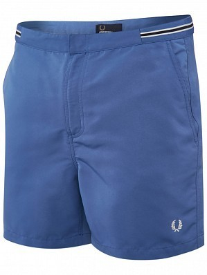Fred Perry Pro Player Men's Bomber Tape Tennis Shorts, Blue