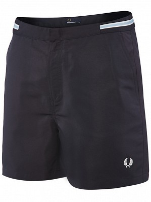 Fred Perry Pro Player Men's Bomber Tape Tennis Shorts, Navy
