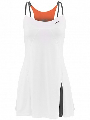 Head WTA Tour Pro Women's Performance  Ladies Tennis Dress, White