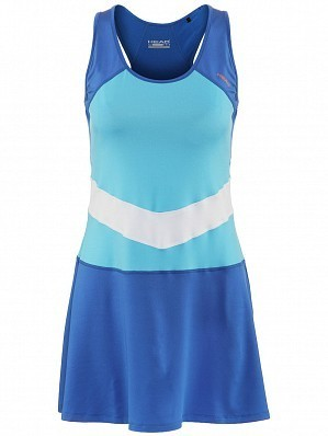 Head WTA Tour Pro Women's Vision Alice Ladies Tennis Dress, Blue