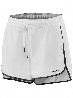 Head WTA Tour Pro Women's Vision Ava Tennis Shorts, White
