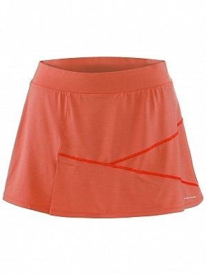 Head WTA Tour Pro Women's Vision Ava Tennis Skirt, Red