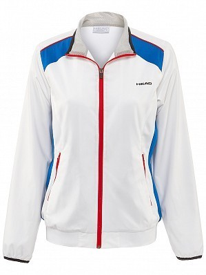 Head WTA Tour Pro Women's Club Technical Tennis Jacket, White