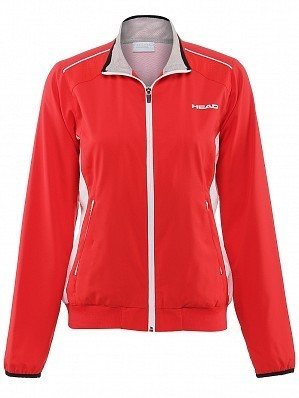 Head WTA Tour Pro Women's Club Technical Tennis Jacket, Red