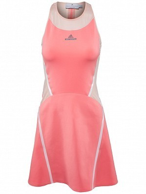 Adidas Stella McCartney Caroline Wozniacki Women's 2016 Australian Open Tennis Dress, Pink
